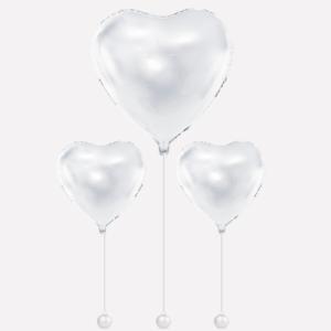 Bryllup hjerte balloner